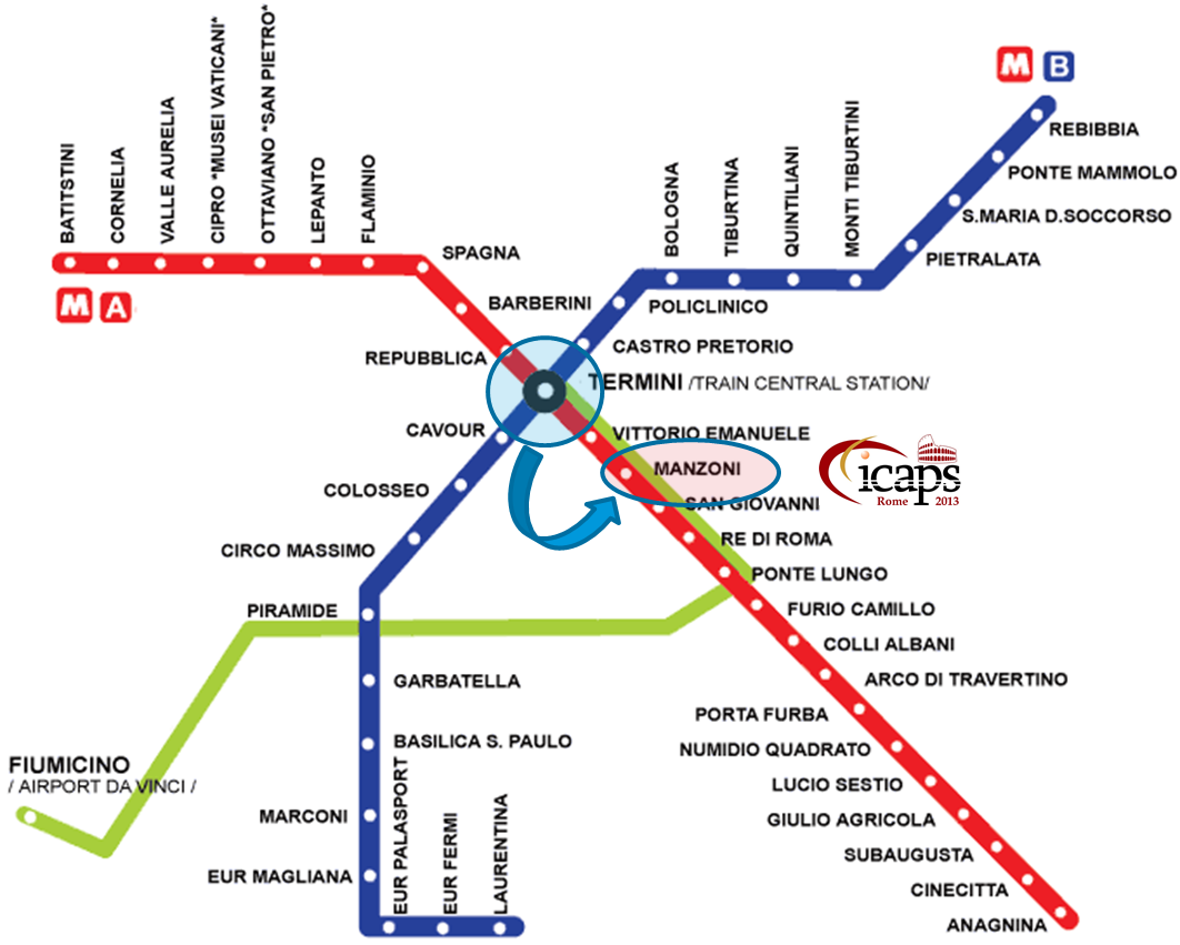 How to reach the conference venues — ICAPS 2013 23rd International ...